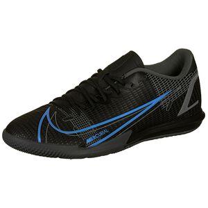 Mercurial Vapor 14 Academy Indoor Fußballschuh Herren, schwarz / blau, zoom bei OUTFITTER Online