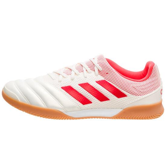 Copa 19.3 Sala Indoor Fußballschuh Herren, weiß / neonrot, zoom bei OUTFITTER Online