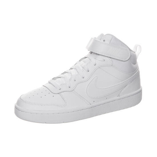 Court Borough Mid Sneaker Kinder, weiß, zoom bei OUTFITTER Online