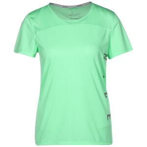 Run Divison Miler Graphic Laufshirt Damen, grün / silber, zoom bei OUTFITTER Online