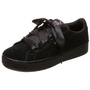 Vikky Platform Ribbon Sneaker Damen, Schwarz, zoom bei OUTFITTER Online