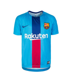 FC Barcelona Dri-FIT Squad Trainingsshirt Kinder, blau / rot, zoom bei OUTFITTER Online