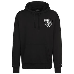 NFL Las Vegas Raiders Detail Logo Kapuzenpullover Herren, schwarz, zoom bei OUTFITTER Online