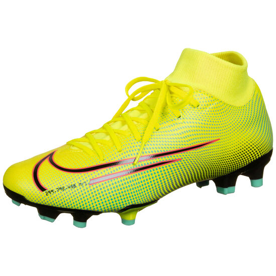 Mercurial Superfly 7 Academy MDS MG Fußballschuh Herren, gelb / grün, zoom bei OUTFITTER Online