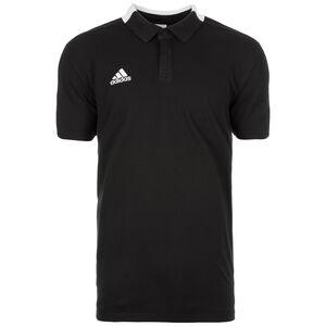 Condivo 18 Cotton Poloshirt Herren, schwarz / weiß, zoom bei OUTFITTER Online