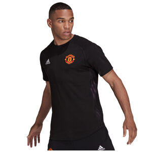 Manchester United Travel T-Shirt Herren, schwarz / rot, zoom bei OUTFITTER Online