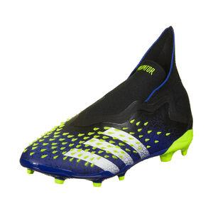 Predator Freak + FG Fußballschuh Kinder, schwarz / blau, zoom bei OUTFITTER Online