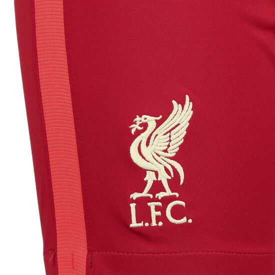 FC Liverpool Shorts Home Stadium 2021/2022 Kinder, rot / weiß, zoom bei OUTFITTER Online