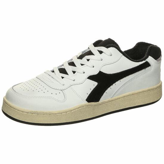 Basket MI Low Used Sneaker, weiß / schwarz, zoom bei OUTFITTER Online