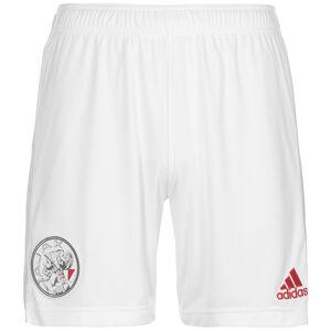 Ajax Amsterdam Shorts Home 2021/2022 Herren, weiß / hellgrau, zoom bei OUTFITTER Online