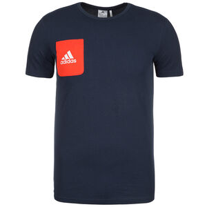 Tiro 17 T-Shirt Herren, dunkelblau / schwarz, zoom bei OUTFITTER Online