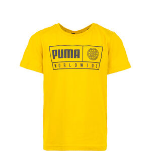 Alpha Graphic T-Shirt Kinder, gelb, zoom bei OUTFITTER Online