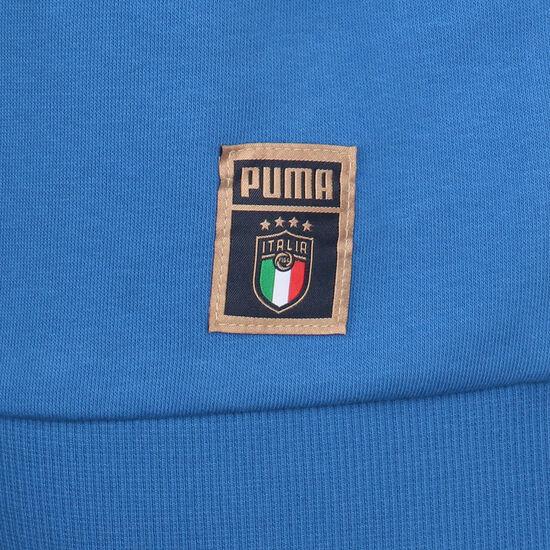 FIGC Italien DNA Kapuzenpullover EM 2021 Herren, blau / gold, zoom bei OUTFITTER Online