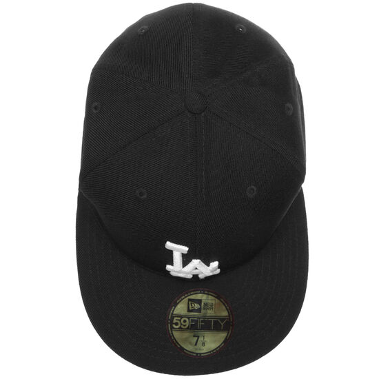 59FIFTY MLB Basic Los Angeles Dodgers Cap, Schwarz, zoom bei OUTFITTER Online