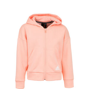 Must Haves 3-Streifen Kapuzenjacke Kinder, apricot, zoom bei OUTFITTER Online