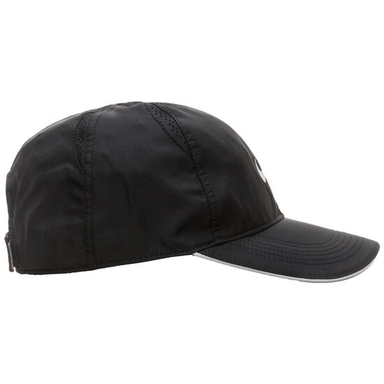 Featherlight Strapback Cap, schwarz, zoom bei OUTFITTER Online
