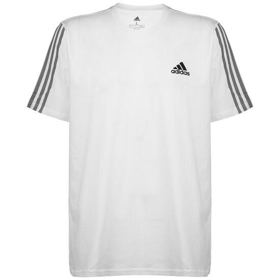 Essentials T-Shirt Herren, weiß / schwarz, zoom bei OUTFITTER Online