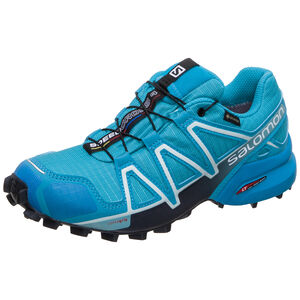 Speedcross 4 GTX Trail Laufschuh Damen, blau / anthrazit, zoom bei OUTFITTER Online