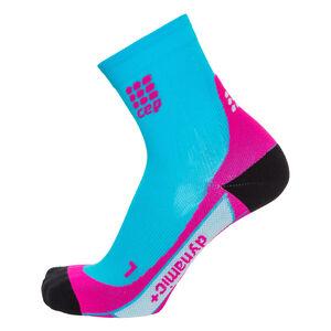 Short Socks Kompressionssocken Damen, Türkis, zoom bei OUTFITTER Online