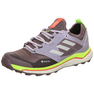 Terrex Agravic XT GTX Trail Laufschuh Damen, violett / gelb, zoom bei OUTFITTER Online