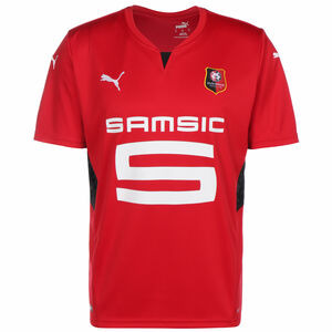 Stade Rennes Trikot Home 2021/2022 Herren, rot / schwarz, zoom bei OUTFITTER Online