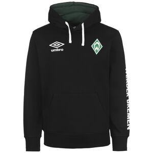 SV Werder Bremen Icon OH Kapuzenpullover Herren, schwarz / weiß, zoom bei OUTFITTER Online