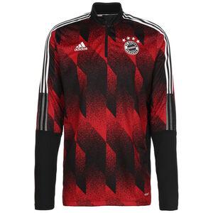 FC Bayern München AOP Longsleeve Herren, schwarz / rot, zoom bei OUTFITTER Online