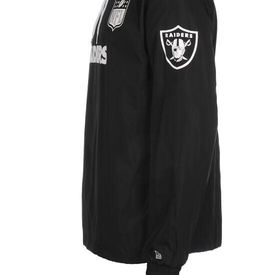 NFL Las Vegas Raiders Windbreaker Herren, schwarz / weiß, zoom bei OUTFITTER Online