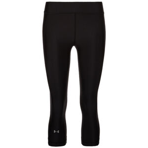 HeatGear Armour Capri Trainingstight Damen, Schwarz, zoom bei OUTFITTER Online