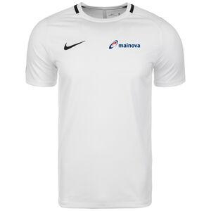 Mainova Dry Academy 18 Trainingsshirt Herren, weiß / schwarz, zoom bei OUTFITTER Online