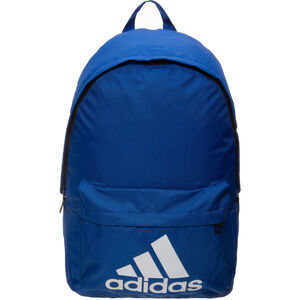 Classic Back to School Rucksack, blau / weiß, zoom bei OUTFITTER Online