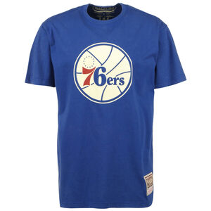 NBA Philadelphia 76ers Worn Logo T-Shirt Herren, blau, zoom bei OUTFITTER Online