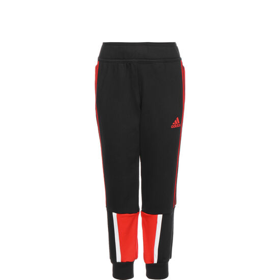Bold Jogginghose Kinder, schwarz / rot, zoom bei OUTFITTER Online
