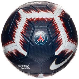 Paris Saint-Germain Strike Fußball, blau / weiß, zoom bei OUTFITTER Online