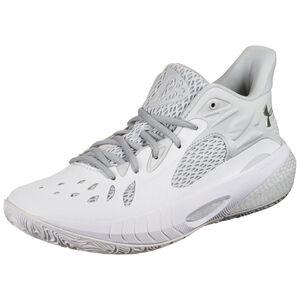 HOVR Havoc 3 Basketballschuh Herren, weiß / hellgrau, zoom bei OUTFITTER Online
