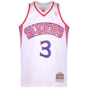 NBA Philadelphia 76ers 2.0 #Allen Iverson Basketballtrikot Herren, weiß / rot, zoom bei OUTFITTER Online