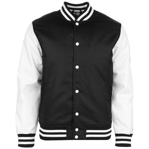 Far East Flagged Varsity Jacke Herren, schwarz / weiß, zoom bei OUTFITTER Online
