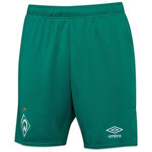 SV Werder Bremen Shorts Away 2021/2022 Herren, grün / weiß, zoom bei OUTFITTER Online