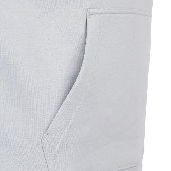 San Antonio Spurs Club Logo Kapuzenpullover Herren, grau, zoom bei OUTFITTER Online