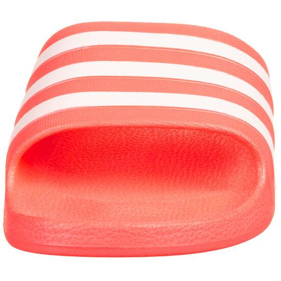 Adilette Aqua Badesandale Damen, pink / weiß, zoom bei OUTFITTER Online