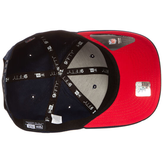 9FIFTY NFL New England Patriots Team Stretch Snapback Cap, dunkelblau / rot, zoom bei OUTFITTER Online