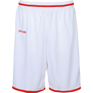 Move Basketballshort Herren, weiß / rot, zoom bei OUTFITTER Online