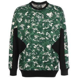 Manchester City TFS Crew Sweatshirt Herren, grün / schwarz, zoom bei OUTFITTER Online
