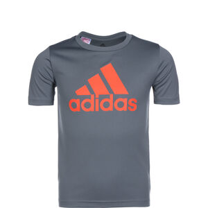 Essentials T-Shirt Kinder, blau / grau, zoom bei OUTFITTER Online