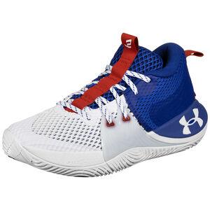 Embiid 1 Basketballschuh Herren, weiß / blau, zoom bei OUTFITTER Online