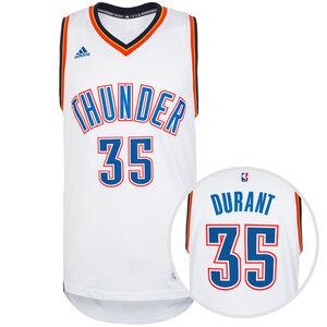 Oklahoma City Thunder Durant Swingman Basketballtrikot Herren, Weiß, zoom bei OUTFITTER Online