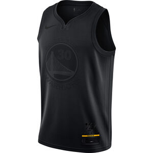 NBA MVP Swingman Stepen Curry Basketballtrikot Herren, schwarz, zoom bei OUTFITTER Online