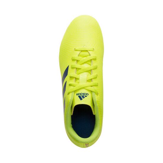 Nemeziz 18.4 FxG Fußballschuh Kinder, neongelb / blau, zoom bei OUTFITTER Online