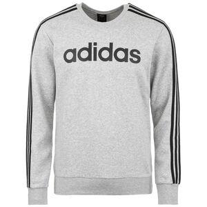 Essentials 3 Stripes Sweatshirt Herren, grau / schwarz, zoom bei OUTFITTER Online