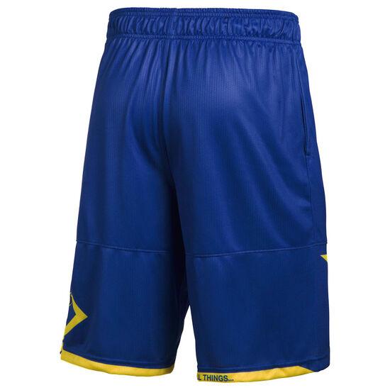 SC30 Pick n Roll Basketballshort Herren, blau / gelb, zoom bei OUTFITTER Online